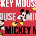 Disney Mickey Cotton Fabric -Traditional