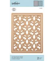 Spellbinder A2 Frame Creator Die By Marisa Job-Tulip Flower Frame, , hi-res