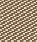 The Big Twill/chocolate Swatch