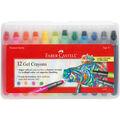 Gel Crayons-12/Pkg
