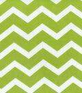Home Essentials Lightweight Decor Fabric 45\u0022-Chevron Green