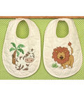 Dimensions Stamped Cross Stitch Kit Kimba Baby Bibs