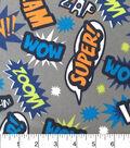 Doodles Juvenile Apparel Fabric-Pow Interlock