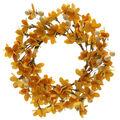 Blooming Autumn Mini Wreath-Yellow