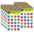 Teacher Created Resources Colorful Paw Prints Stickers 12 Packs