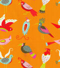 Waverly Lightweight Decor Fabric 54\u0022-For The Birds/Flamingo