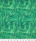 Keepsake Calico Cotton Fabric -Oil Slick Green