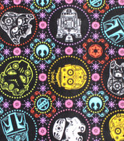 Star Wars Fleece Fabric 58''-Sugar Skulls, , hi-res