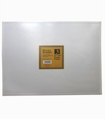 "Value Pack Canvas Panels-16""x20"" 3PK"
