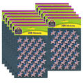 Teacher Created Resources Large Flag Foil Stars Stickers 12 Packs