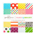 Park Lane 8\u0022x8\u0022 180 sheet  printed stack: Brights Basics