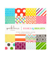 "DCWV 8""x8"" 180 sheet  printed stack: Brights Basics, , hi-res"