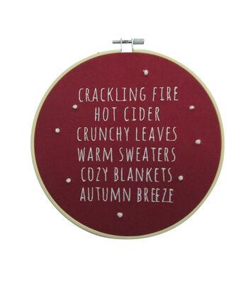 Simply Autumn Hoop-Cracking Fire