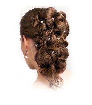 Wilton 6pk Rhinestone Hair Coils