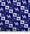 University of Kentucky Wildcats Cotton Fabric -Block