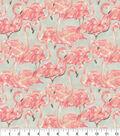 Waverly Upholstery Fabric 13x13\u0022 Swatch-Beach Social Bloom