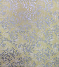 Keepsake Calico Cotton Fabric-Metallic Branches Yellow