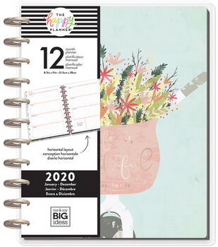 The Happy Planner Big 2020 Dated Planner-Beautiful Day