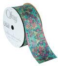 Offray Grosgrain Ribbon 1.5\u0027\u0027x9\u0027-Abstract Floral