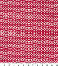 Quilter\u0027s Showcase Cotton Quilt Fabric -Triangles Red