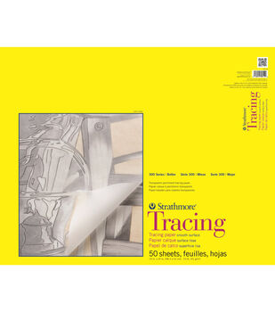 Strathmore 300 Series 50-sheet 19''x24'' Tape Bound Tracing Paper Pad