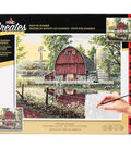Plaid Creates Classic 16\u0027\u0027x20\u0027\u0027 Paint by Number Kit-Barnyard Memories
