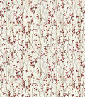 Christmas Cotton Fabric-Winter Berries