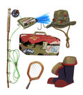 Jolee\u0027s Boutique Dimensional Stickers Fishing