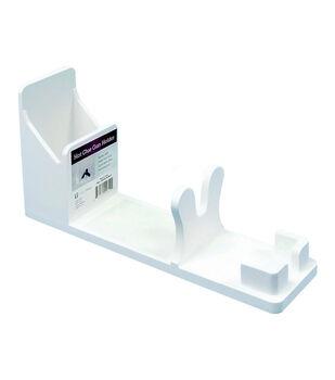 Hot Glue Gun Holder-White