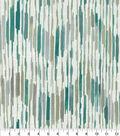 Kelly Ripa Home Upholstery Décor Fabric 9\u0022x9\u0022 Swatch-Drizzle Seaglass