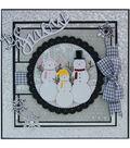 Tonic Studios Christmas Rococo Plus 6 pk Dies-Snowman Family Trio