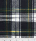 Fashion Flannel Shirting Fabric 41\u0027\u0027-Navy & Green Classic Check