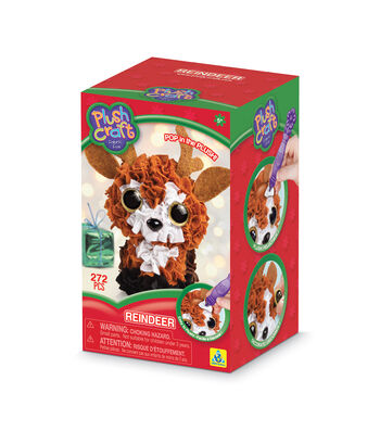 Plush Craft Reindeer 3D Mini