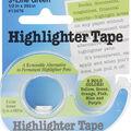 Highlighter Tape .5\u0022X393\u0022-Green