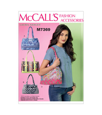McCall's Crafts Totes & Bags-M7369