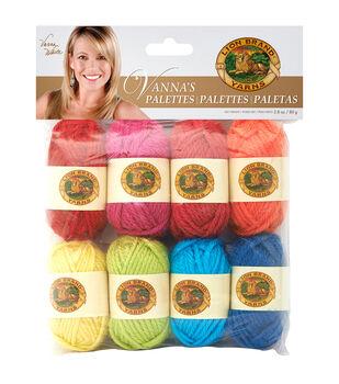 Lion Brand Vanna's Palette Bonbons Yarn 8/Pkg- Happy