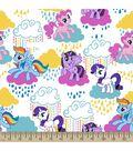 Hasbro My Little Pony Print Fabric-Pony Clouds