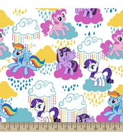 Hasbro My Little Pony Print Fabric-Pony Clouds, , hi-res