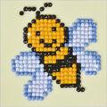 Diamond Dotz Diamond Embroidery Facet Art Kit 4.75\u0027\u0027X4.75\u0027\u0027-Busy Buzzz