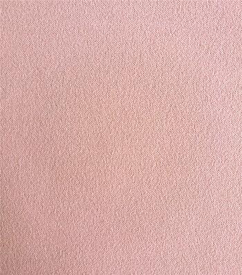Knit Solids Stretch Crepe Fabric-Peachskin