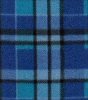 Blizzard Fleece Fabric 58''-Bridget Plaid