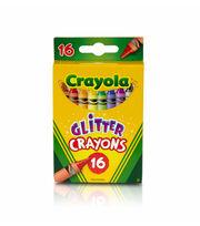 Crayola 16ct Glitter Crayons, , hi-res