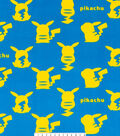 Pokemon Fleece Fabric -Pikachu