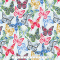 Kelly Ripa Home Upholstery Décor Fabric-Social Butterfly Petunia