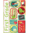 Karen Foster School Cardstock Stickers 5.5\u0022X9\u0022-First Grade