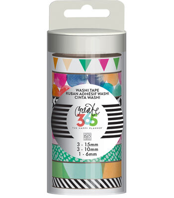 Create 365 The Happy Planner™ Washi-Watercolor