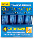 AdTech 4 pk Crafter\u0027s Tapes-Blue