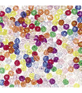 Faceted 8mm Beads, Multicolor Acrylic