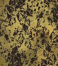 Keepsake Calico Cotton Fabric 43\u0027\u0027-Metallic & Brown Crackle