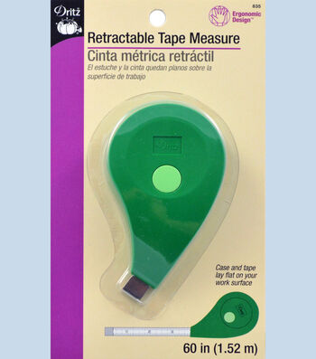 Dritz 60'' Ergo Retractable Tape Measure